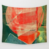 mars Wall Tapestries featuring Mars by Fernando Vieira