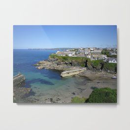 SAFE HAVEN PORT ISAAC (PORTWENN IN DOC MARTIN) CORNWALL Metal Print