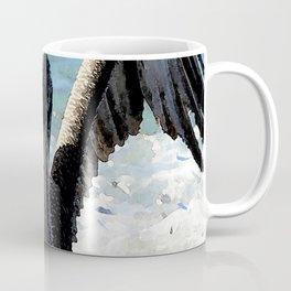Watercolor Bird, Brown Pelican 03, St John, USVI Coffee Mug