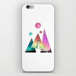 Spacey Wind Sails iPhone Skin