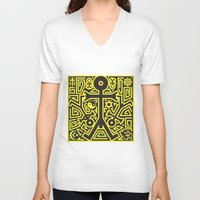 religion V-neck T-shirts featuring Religion Icon by Thisisnotme