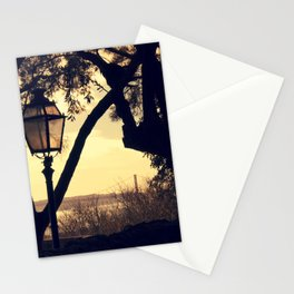 Sunset Silhouette: Latern and Lisboa Stationery Cards