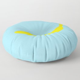 Banana print Floor Pillow