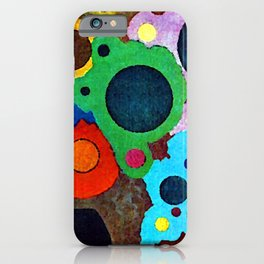 Wassily Kandinsky Black Increasing iPhone Case