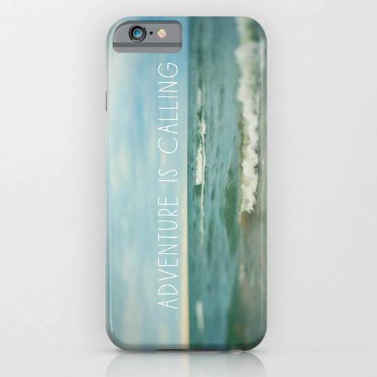 Adventure is Calling - Waves iPhone & iPod Case