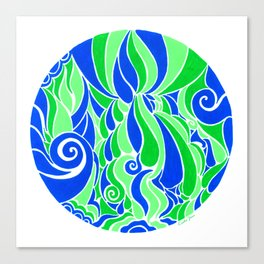 Water Life :: Color Therapy Collection :: Canvas Print