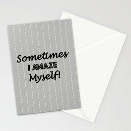 Sometimes I Amaze Myself! Stationery Cards