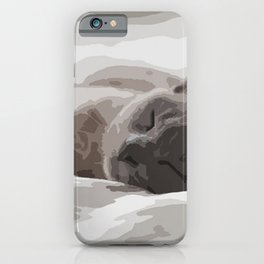 Let me sleep iPhone Case