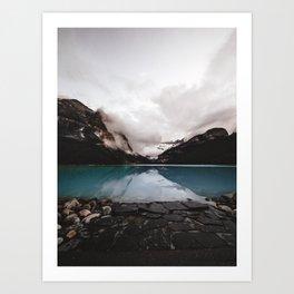 Lake Louise Mood Art Print