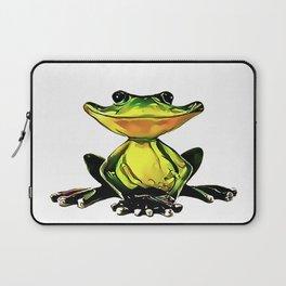 Jon Jade - The Cambodian Tree Frog Laptop Sleeve