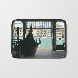 Gondola on Giudecca Island, Grand Canal, Venice Bath Mat