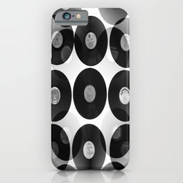 Something Nostalgic II - Black And White #decor #society6 #buyart iPhone Case