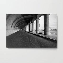 Breakwater Metal Print