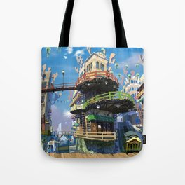 Pretty Urban Buildings And Infrastructure Ultra HD Tote Bag