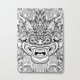 Barong / Balinese mask / Bali mask #1 Metal Print