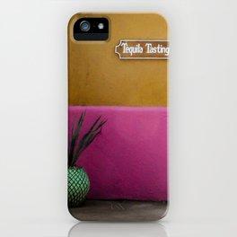 Tequila Tasting iPhone Case