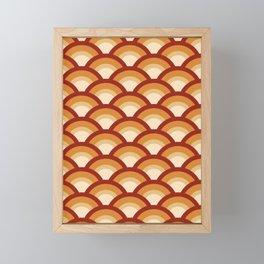 Sunset Scales Framed Mini Art Print