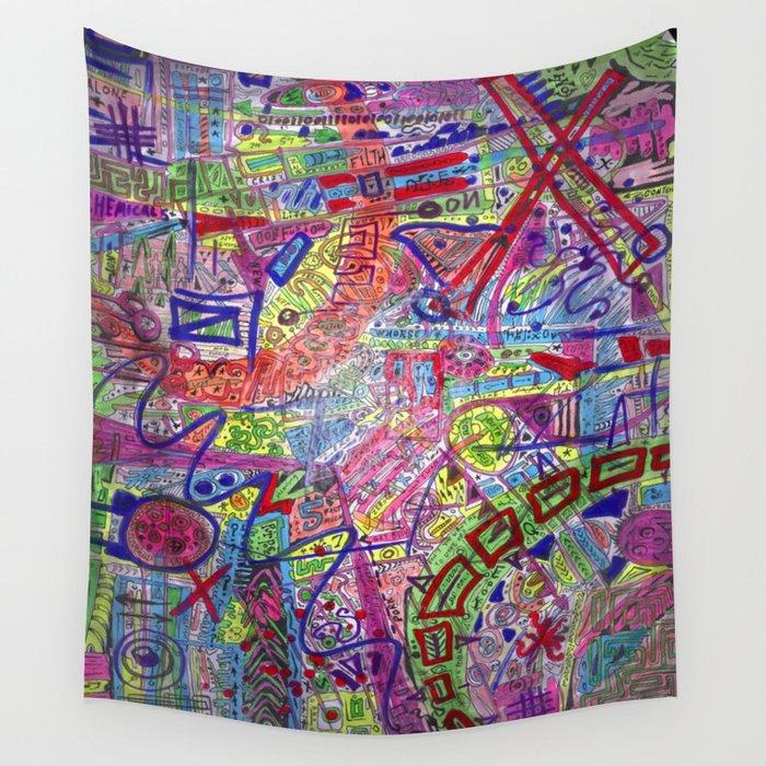 Brain Dump Wall Tapestry