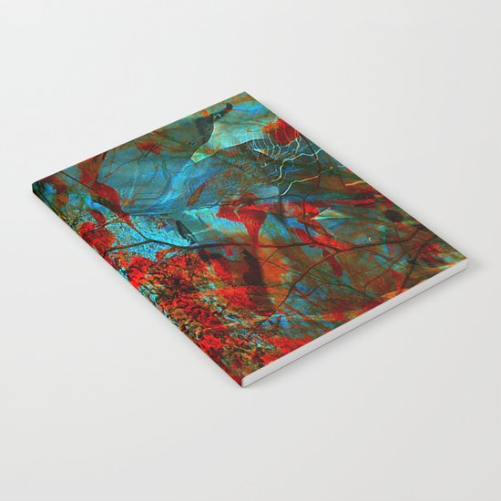 fantasy nature in colors Notebook