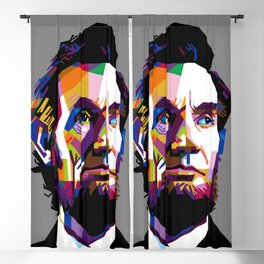 ABRAHAM LINCOLN Blackout Curtain