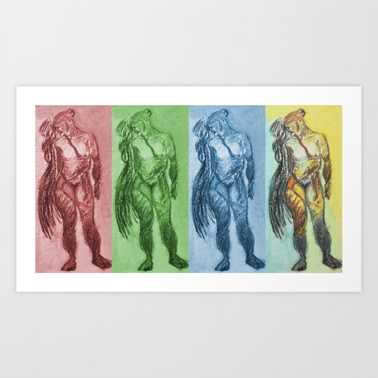 Untitled Figure Study Art Print