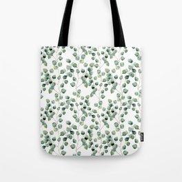 Watercolor eucalyptus silver dollar Tote Bag