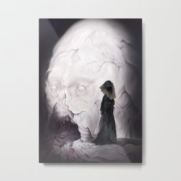 Death Claims the Godhead Metal Print