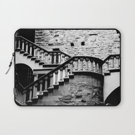 The Stairs at Poppi Castle Laptop Sleeve