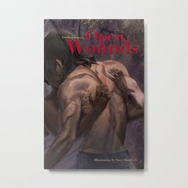 Open Wounds (Damaged Soul Book 2) Metal Print