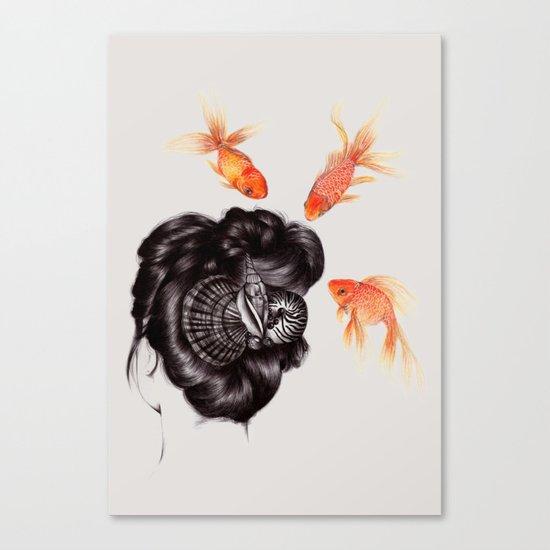 Hair Sequel IV Canvas Print
