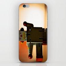 Kung Fu Robot iPhone & iPod Skin