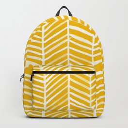 Herringbone – Yellow Palette Backpack