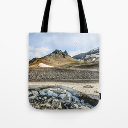 """Extrusion """"Camel"""" at the foot of the Avachinsky volcano Tote Bag"""