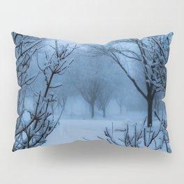 Foggy Winter Solstice Pillow Sham