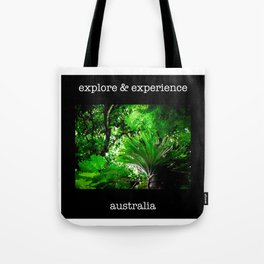 Explore and Experience Tote Bag