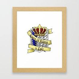 Queen of Titans Ymir Framed Art Print
