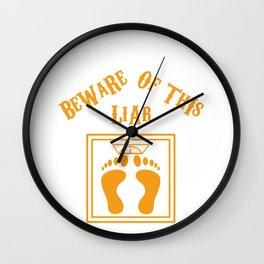 Beware of this liar Wall Clock