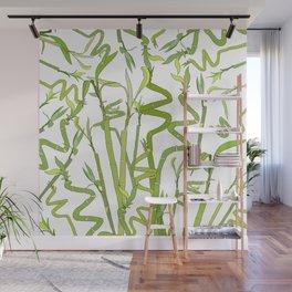Bamboos Wall Mural