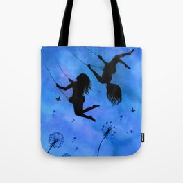 Free As The Wind Tote Bag