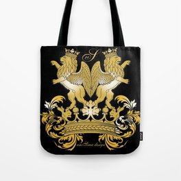 The Royal Lions (Black) Collection Tote Bag