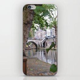 Oudegracht, Utrecht iPhone Skin