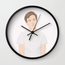 Skam cast | Tarjei Sandvik Moe Wall Clock