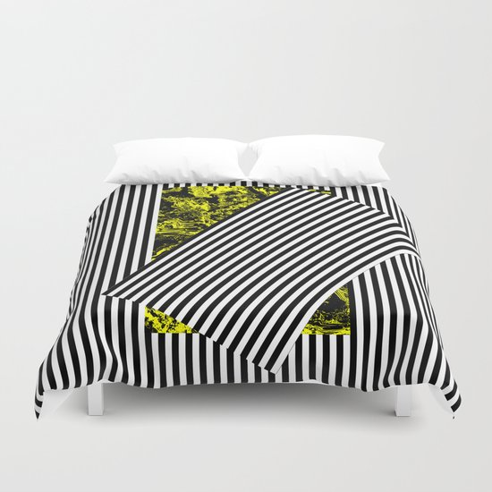 Come Out of the Shadow Duvet Cover