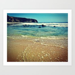 Clear Sea Art Print