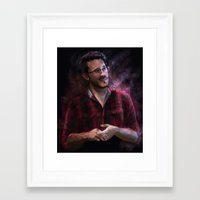 markiplier Framed Art Prints featuring Markiplier at Pax by JazzySatinDoll