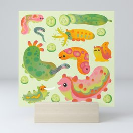 Sea cucumber Mini Art Print
