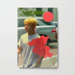 Artwork K-Pop SEVENTEEN Woozi Metal Print