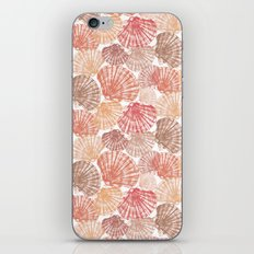 Mid Shells: Pink corals iPhone Skin
