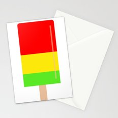 Popsicle colorful design Stationery Cards