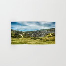 Cantabrian Mountains Hand & Bath Towel